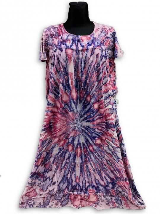 Extra nagy méretű hosszú ruhák Indiából. 2709 lila