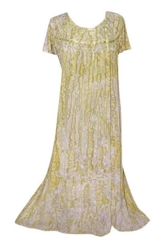 Extra nagy méretű hosszú ruhák Indiából 2705 drapp