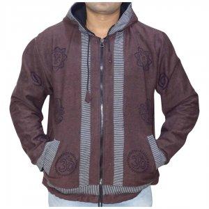 Férfi kabát 4 színben OM mintával