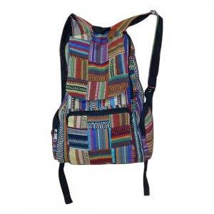 Világos árnyalatú színes hátizsák
