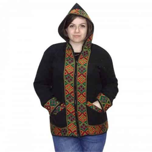 Unisex egyedi gyapjú kabát Indiából
