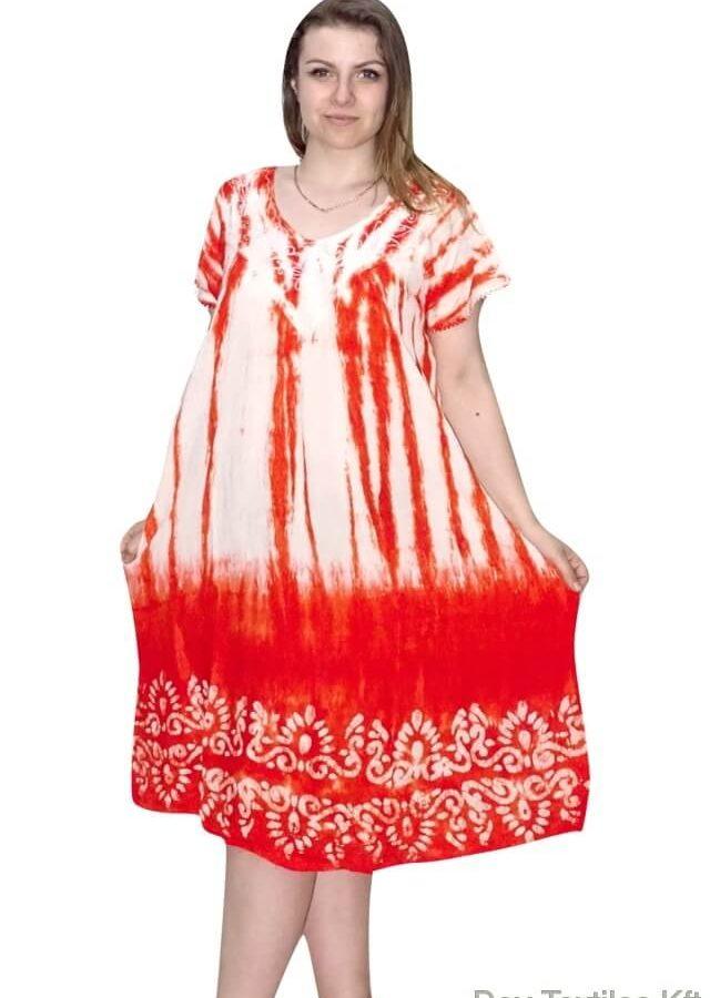 Nagy méretű-egyenes aljú rövid ruha Indiából 2207