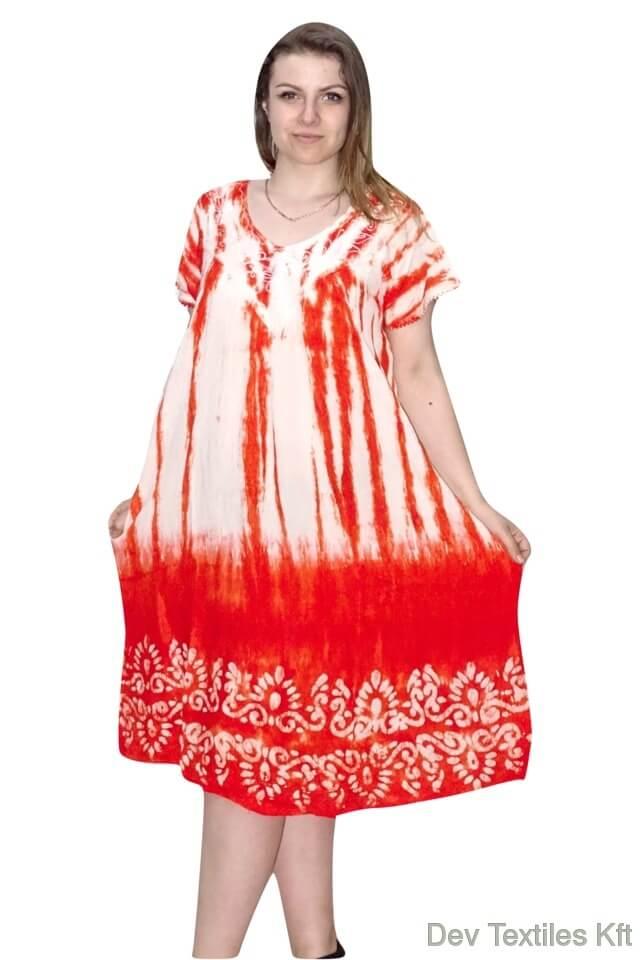 nagy méretű egyenes aljú rövid ruha indiából 2207