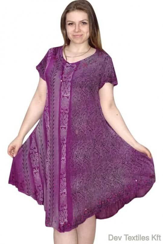 Rövid ruha-Keleti stílusú ruha Indiából