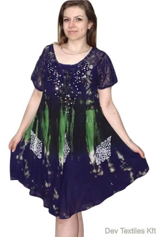 rövid ruha csinos indiai flitteres ruhák