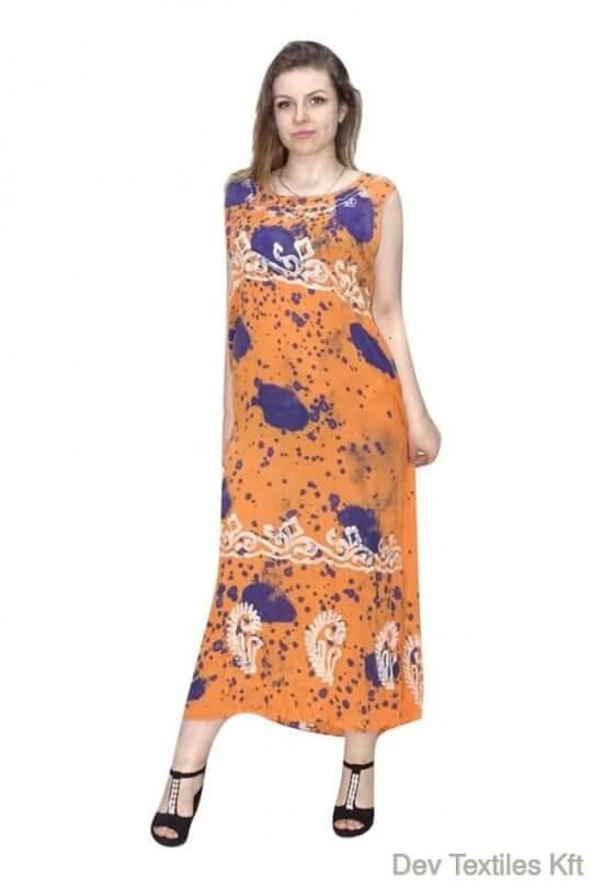 83fa3f72159e Csinos,lenge hosszú nyári ruha Indiából - Devifashions