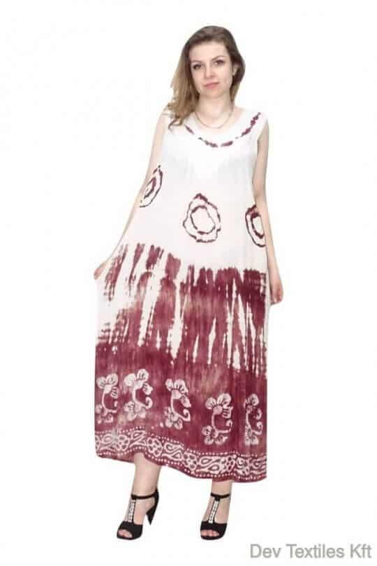 Egyedi lenge hosszú nyári ruha 2501
