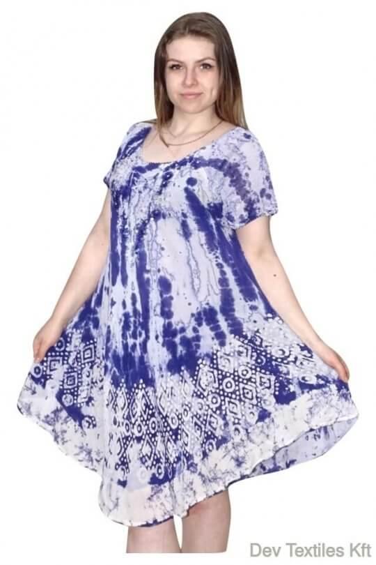 Rövid ruha-Színes elegáns ruha Indiából