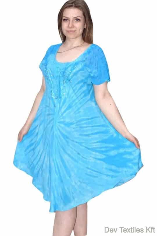 rövid ruha elénk színes nyári ruha keleti stílusú