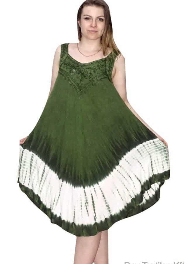 rövid nyári ruha indiából vékony pántos