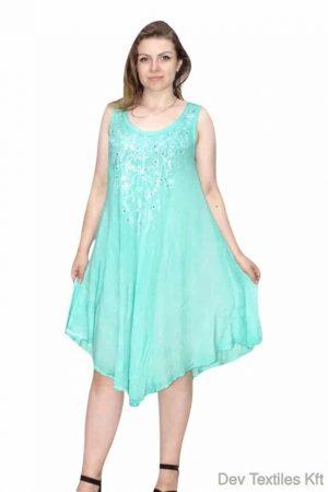 flitterekkel indiai rövid ruha ocean blue