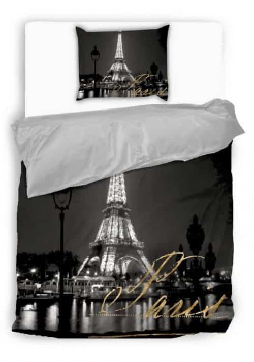 pamut 2 részes ágyneműhuzat párizsi mintával