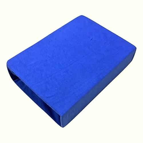 prémium jersey gumis lepedő kék színben