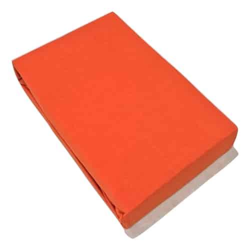 prémium jersey gumis lepedő narancs színben