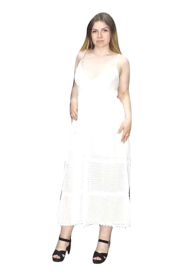 Hosszú fehér ruha