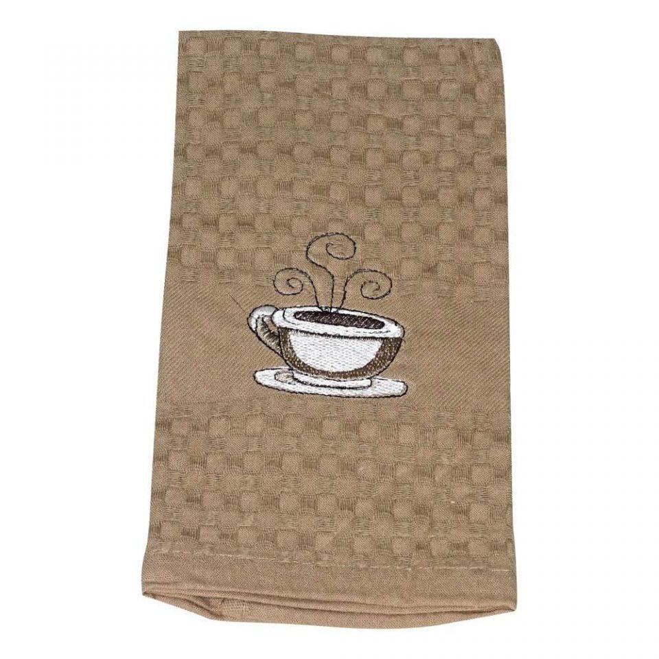konyharuha pamutból közepes méret csésze minta