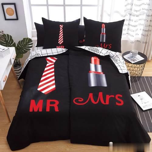 Pamut Ágynemű Mr És Mrs