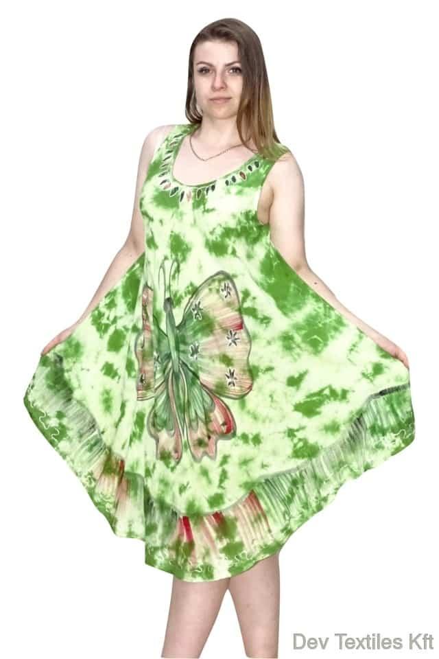 indiai lenge nyári ruha pillangó mintával
