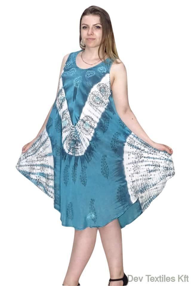 könnyed indiai nyári ruha univerzális méretben