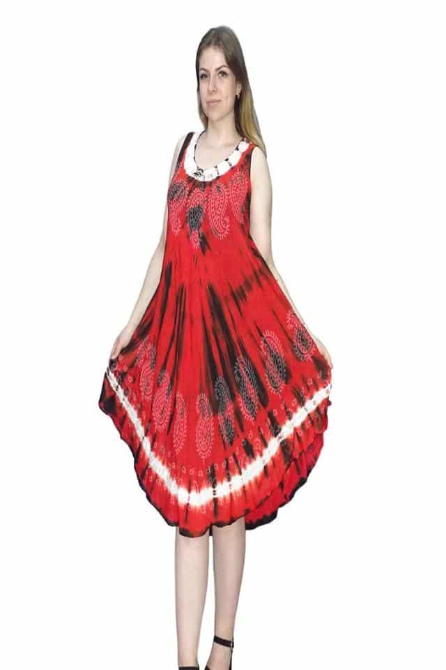 nyári rövid ruha élénk választható színekben