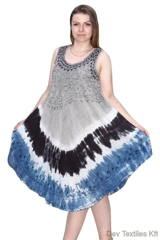 egyedi nyári színes rövid ruha indiából