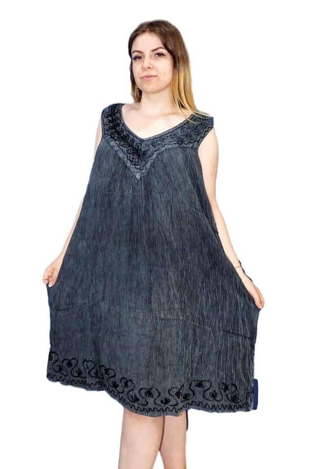 elegáns rövid ruha indiából extra méret