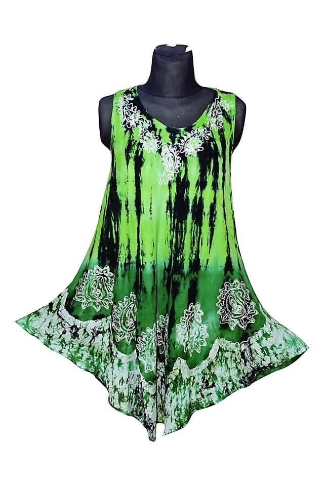 rövid ruha univerzális méretben élénk színekkel