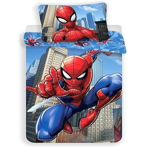 pamut ágyneműhuzat pókember disney mese mintával