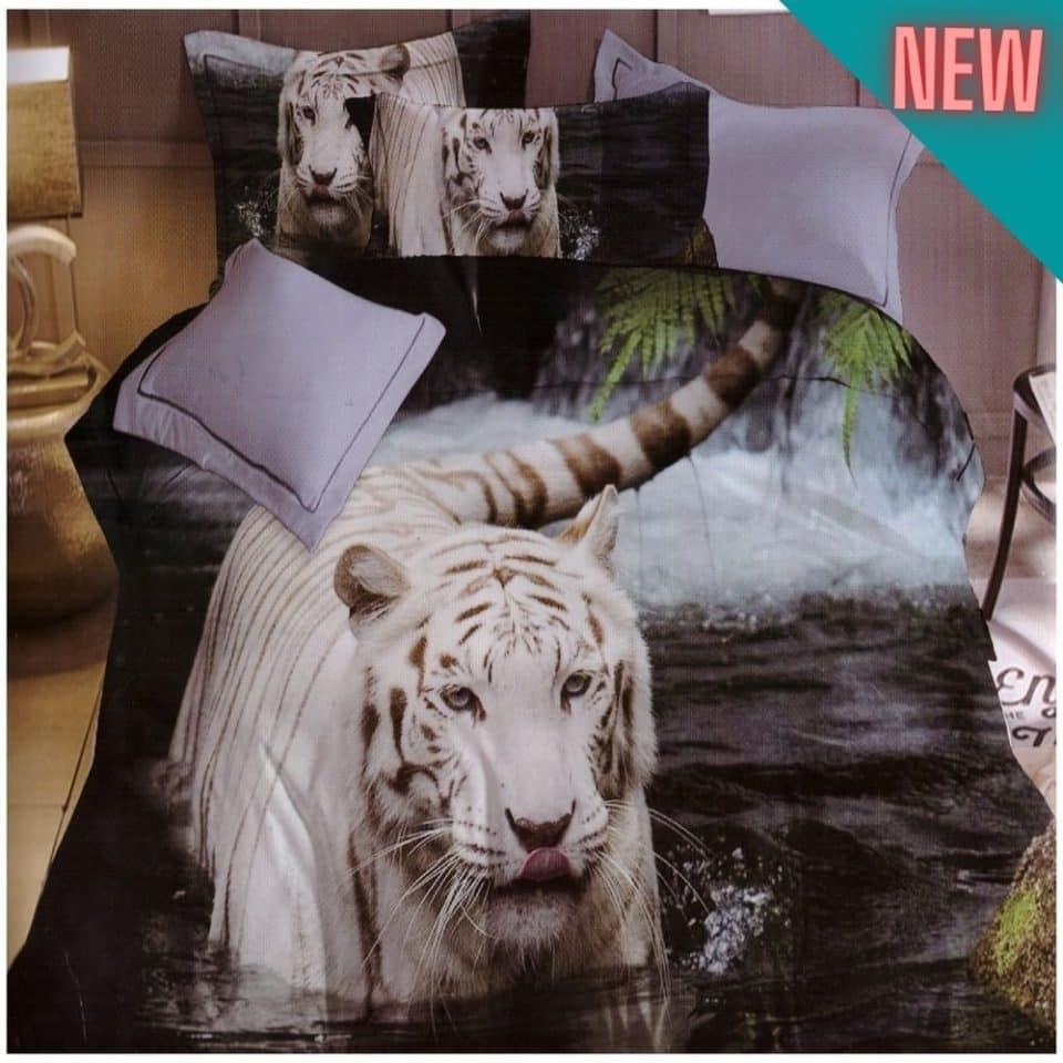 pamut tigris a vízben ágyneműhuzat