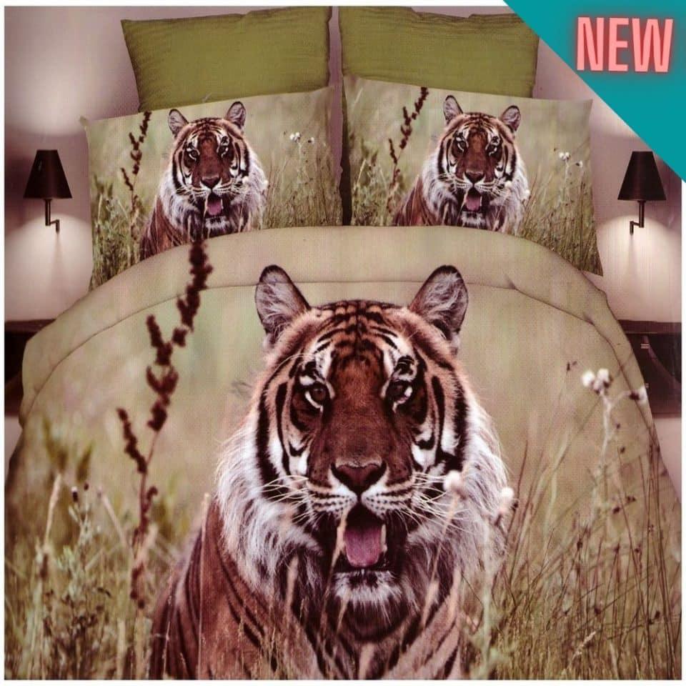 pamut tigris mintás ágyneműhuzat