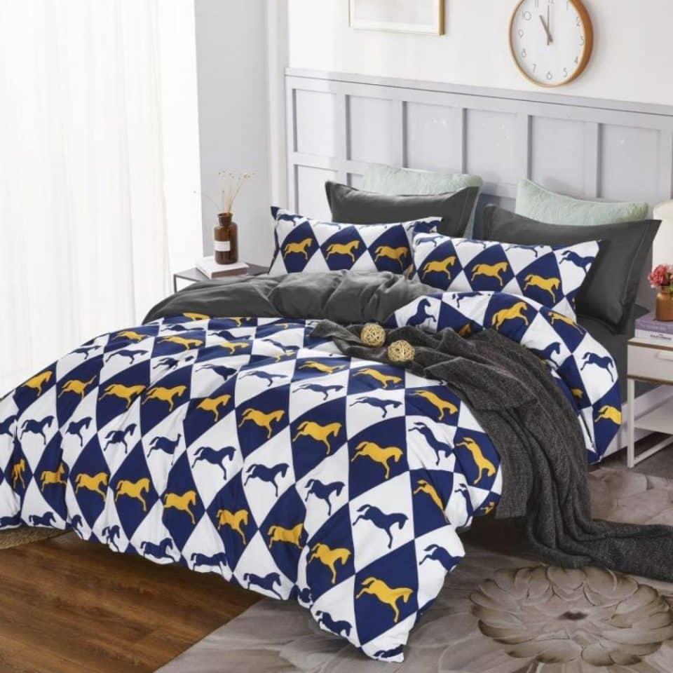 lovak mintával pamut ágynemű több színben