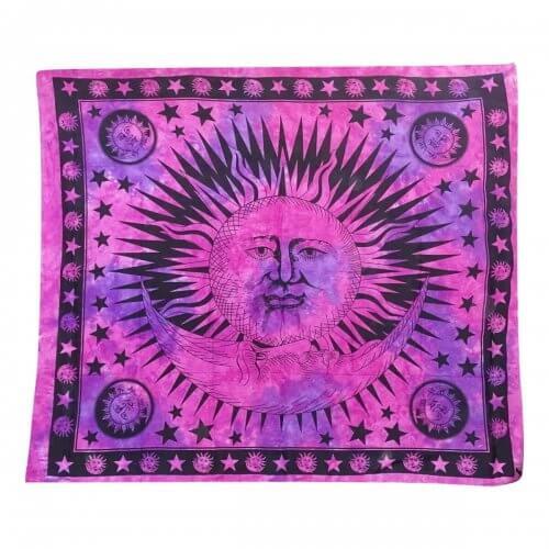Falvédő Nap Fekete Pink