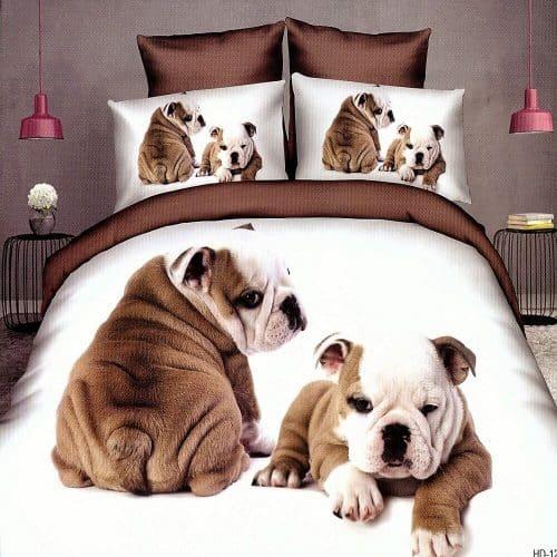 Pamut Ágynemű Angol Bulldog Kutyus