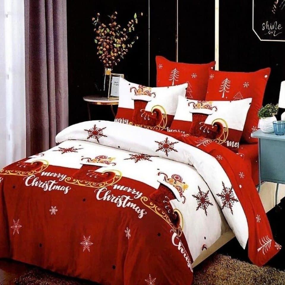 Ágynemű Boldog Karácsonyt Felirat