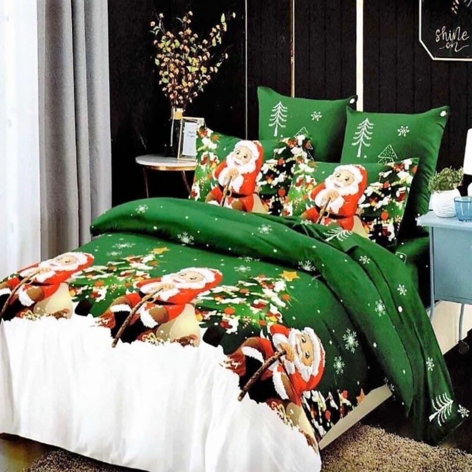Ágynemű Karácsony Fehér Zöld