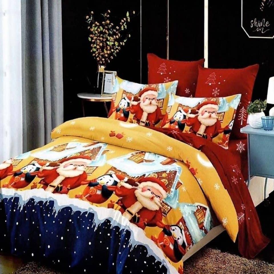 Ágyneműhuzat Karácsonyi Színekben