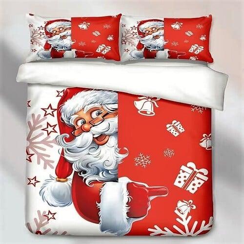 Ágynemű Mikulás Karácsonyi